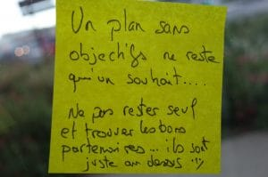 Post-it d'or inauguration Ubiconseil